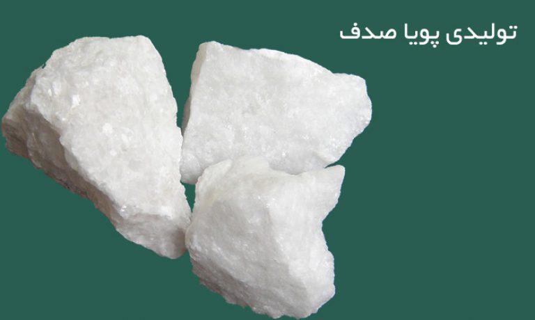 تولید انواع صدف معدنی خوراک دام و طیور و آبزیان